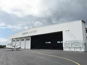 民間航空操縦士訓練学校 校舎