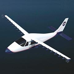 テクナムP2006TをベースにしたNASAの実験機