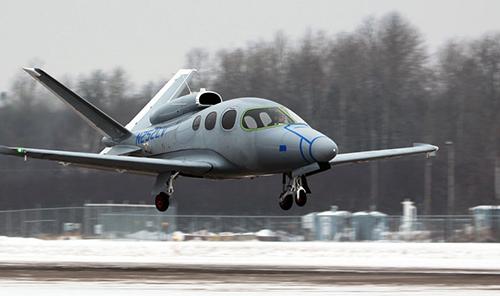 試験飛行中のVision SF50