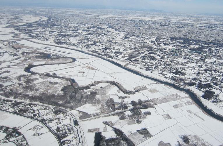 冬のフライト