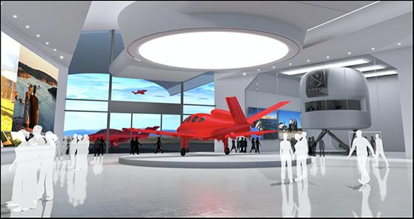 Vision SF50の顧客サポートの拠点「ビジョン・センター」