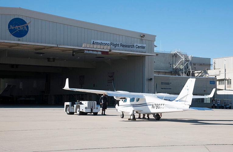 テクナムP2006TがNASAの研究所に到着!