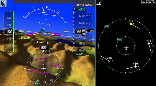 シーラスVisionSF50に搭載されるアビオニクス「Cirrus Perspective Touch」
