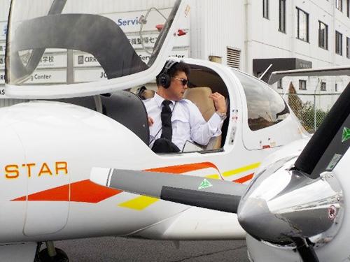 計器飛行証明の実地試験(DA42)