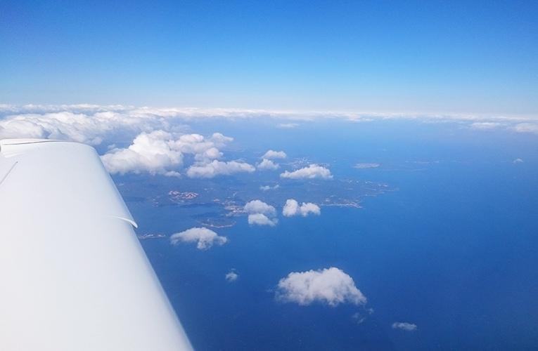 鹿児島空港から空輸