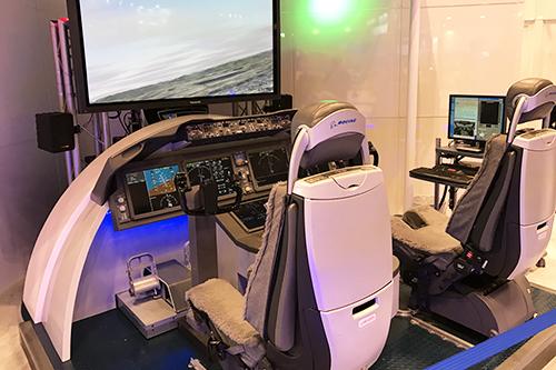 国際航空宇宙展 ボーイング社ブース