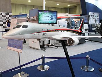 国際航空宇宙展 三菱航空機 MRJ