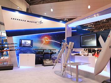 国際航空宇宙展 ロッキード・マーチン社ブース