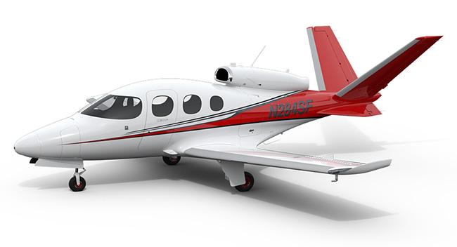 シーラス Vision SF50 (Vision Jet)