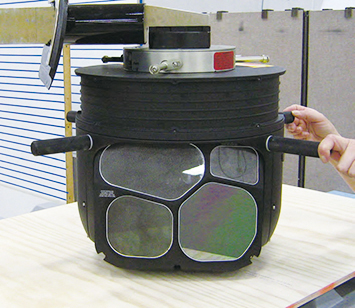 シーラス・スペシャルミッション機「Cirrus Perception」センサーカメラ