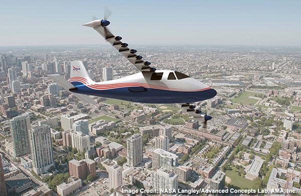 電気飛行機の研究用プロトタイプ「X-57」(通称・マクスウェル)