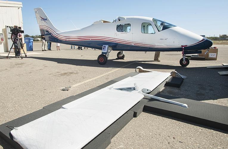 テクナムがNASAに2機目の実験機を納入