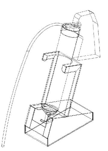 グリスガンのスタンド(図面)