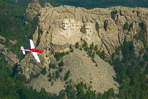 サウスダコタ州キーストーンのラシュモア山国立記念公園
