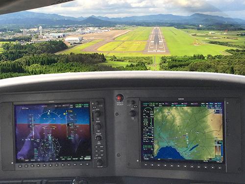鹿児島空港 R/W 34