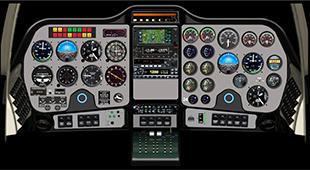 テクナムP2006T アビオニクス アナログ