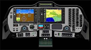 テクナムP2006T アビオニクス ガーミンG1000NXi