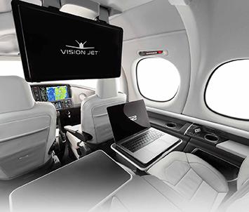 "Vision Jet ""G2"" キャビン"